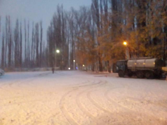 FOTO: Intensas nevadas en Malargüe y San Rafael
