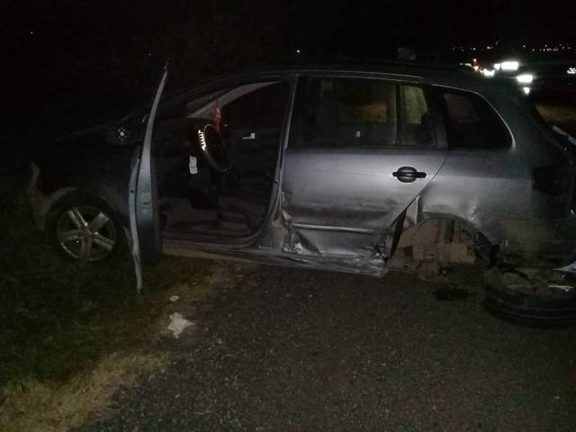 FOTO: Violento accidente entre un colectivo y dos autos