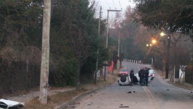 AUDIO: Está estable el conductor de trágico vuelco en Villa Allende