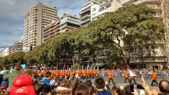FOTO: Macri participó del desfile militar de Palermo