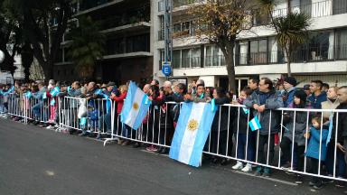 AUDIO: Macri irá al desfile militar de Palermo por el 9 de Julio