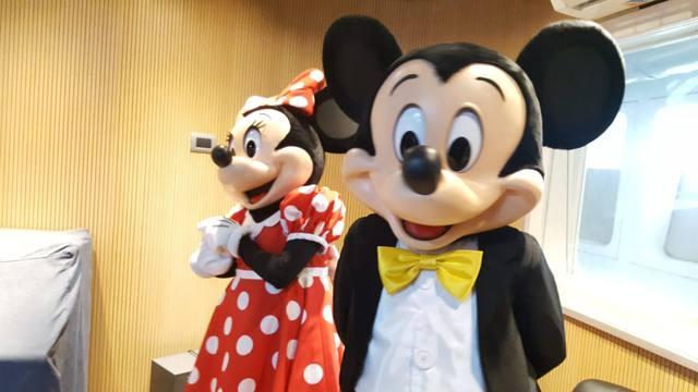 FOTO: Los personajes de Disney On Ice visitaron Cadena 3