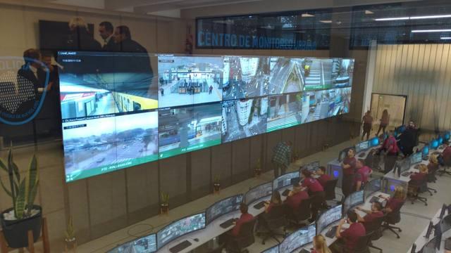 FOTO: Larreta y Bullrich inauguraron el nuevo Centro de Monitoreo