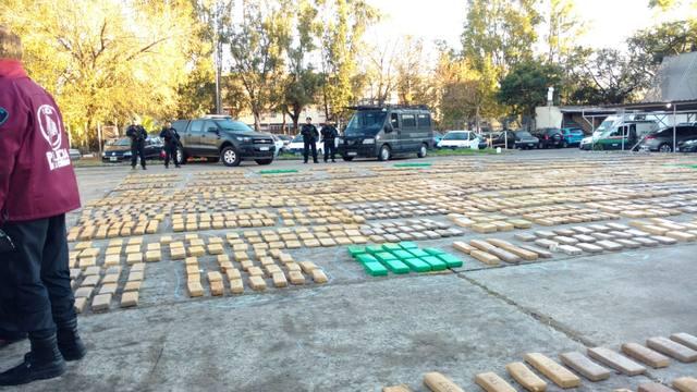 FOTO: Secuestraron marihuana por un valor de 30 millones de pesos