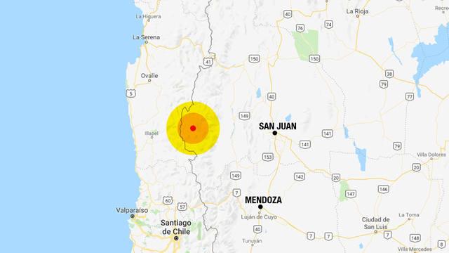 FOTO: Fuerte temblor sacudió a la región de Cuyo