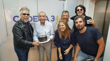 AUDIO: El Rey Pelusa celebró su cumpleaños en Juntos
