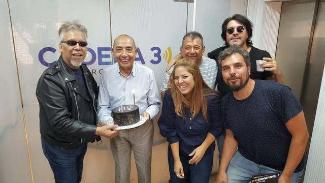 FOTO: El Rey Pelusa celebró su cumpleaños en Juntos