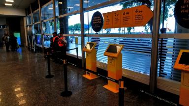 AUDIO: Nuevo sistema de cobro para taxis que salen desde Aeroparque