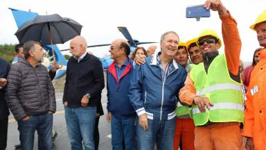 AUDIO: Schiaretti inauguró el camino San Antonio-Altas Cumbres