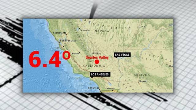 FOTO: Fuerte sismo en el sur de California