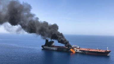AUDIO: Nuevo ataque a dos petroleros en el Golfo de Omán