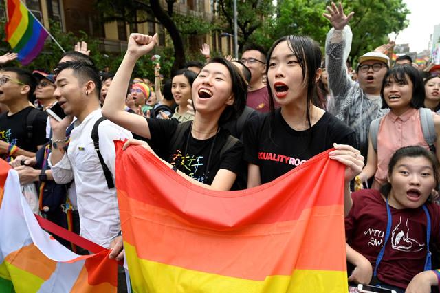 FOTO: Taiwán aprobó la legalización del matrimonio igualitario