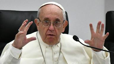 AUDIO: El Papa se mostró