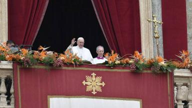 AUDIO: El Papa manifestó sus condolencias por los atentados