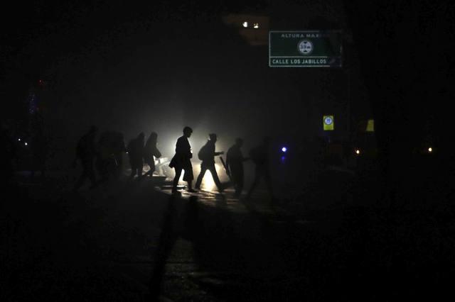 FOTO: Hace un mes, hubo cinco apagones que afectaron a Venezuela.