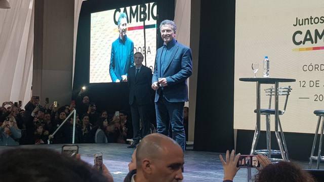 FOTO: Macri, en Córdoba: