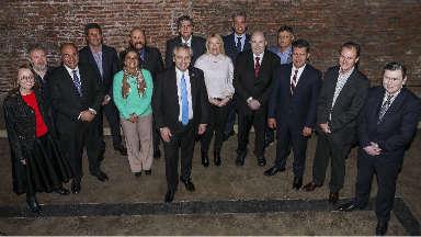 AUDIO: Alberto Fernández, con 12 gobernadores y senadores del PJ