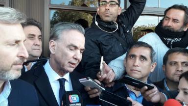 """AUDIO: Pichetto, en campaña: """"Convocamos al peronismo riojano"""""""
