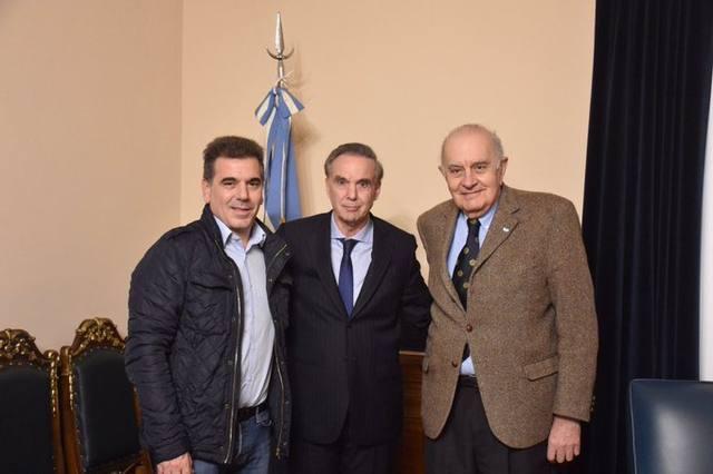 FOTO: Pichetto anunció junto a Ritondo la incorporación de Asseff
