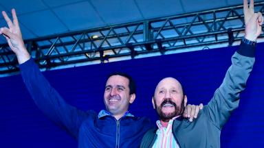 AUDIO: Gildo Insfrán celebró la victoria del peronismo