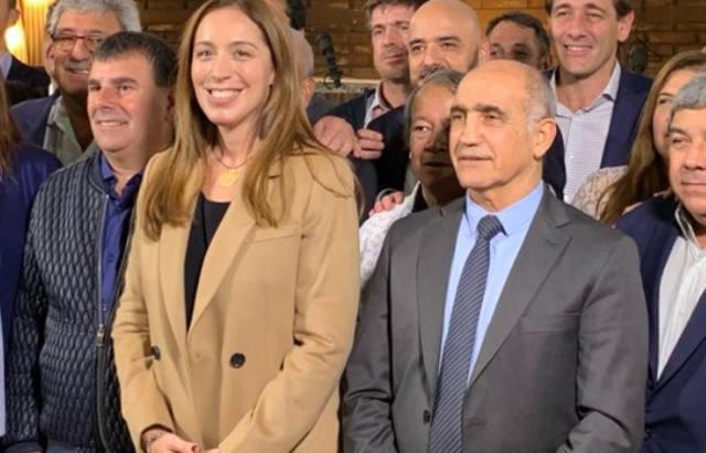 FOTO: Vidal repetirá fórmula con Daniel Salvador en Buenos Aires