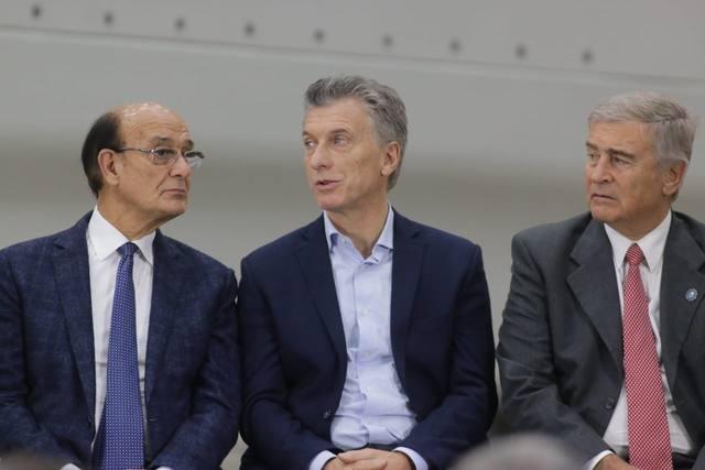 FOTO: Macri se mostró junto a Negri y Mestre: