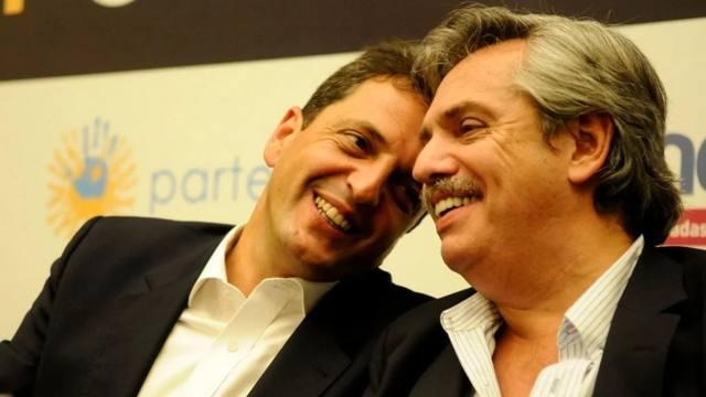 FOTO: Massa y Fernández