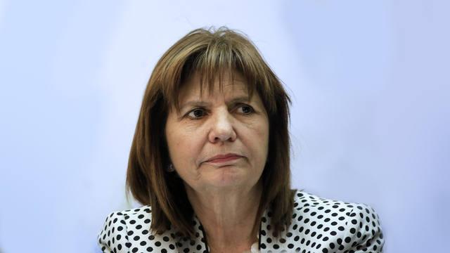 FOTO: Patricia Bullrich dijo que no permitirá el corte de puentes