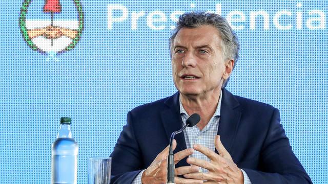 FOTO: Macri se diferenció del kirchnerismo por las obras públicas