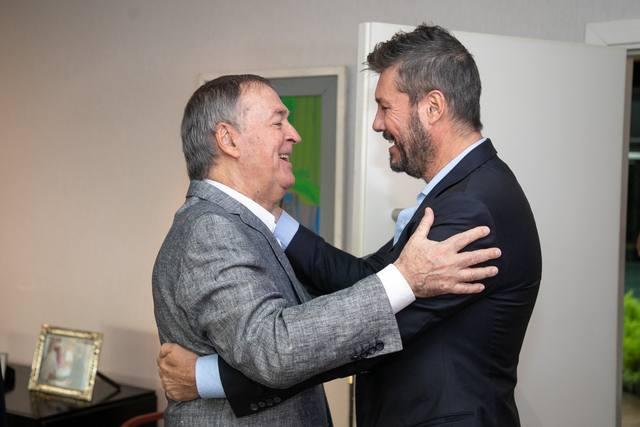 FOTO: Schiaretti quiere sumar a Scioli y Tinelli al PJ Federal