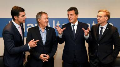 AUDIO: Massa y Pichetto en la cumbre del PJ Federal