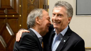 AUDIO: Schiaretti le planteó seis puntos a Macri en la reunión