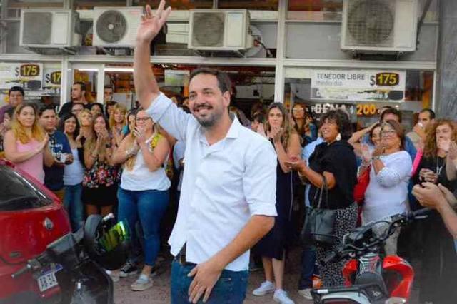 FOTO: El camporista Luciano Di Napoli se impuso en Santa Rosa.