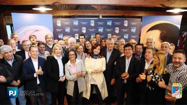 AUDIO: Cristina Fernández participa de la cumbre del PJ