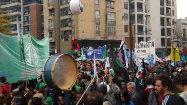 AUDIO: Gremios cordobeses se movilizaron por el centro de la ciudad