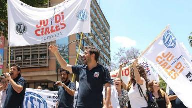 AUDIO: Judiciales se adhieren al paro del 30 de abril