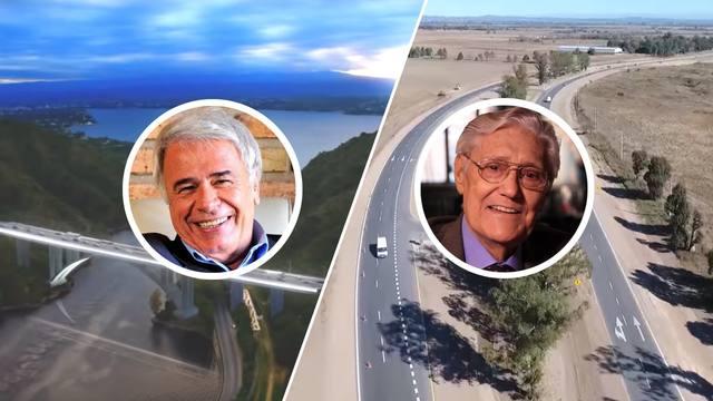 FOTO: Un puente y una ruta llevarán los nombres de ex gobernadores