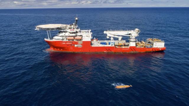 FOTO: La Armada mostrará imágenes del submarino hallado