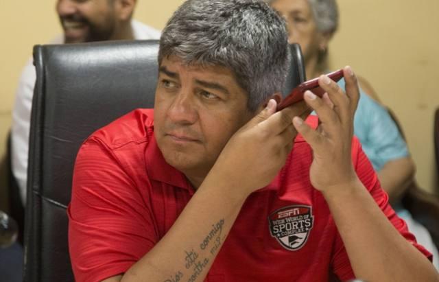 FOTO: Pablo Moyano, secretario adjunto de Camioneros.