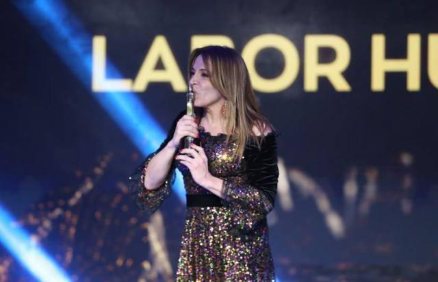 FOTO: Lizy Tagliani emocionó a todos con su discurso