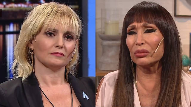 FOTO: Tenso cruce entre Moria Casán y Romina Manguel