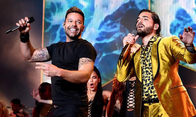 FOTO: Maluma lanzó un nuevo tema junto a Ricky Martin
