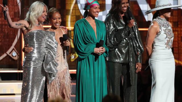 FOTO: La gran sorpresa fue la presencia de Michelle Obama