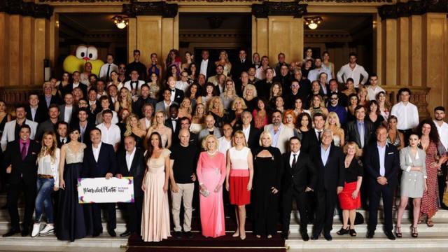 FOTO: Foto del lanzamiento de la temporada teatral en Colón