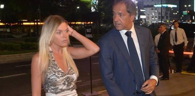 FOTO: Gisela Berger tiene una difícil relación con Daniel Scioli
