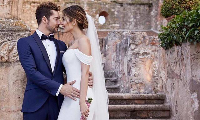 FOTO: David Bisbal sorprendió al mundo con una boda secreta