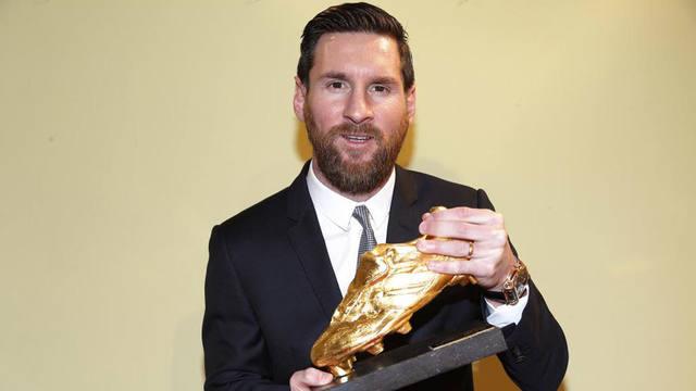 FOTO: Messi se convirtió en el máximo ganador de la Bota de Oro