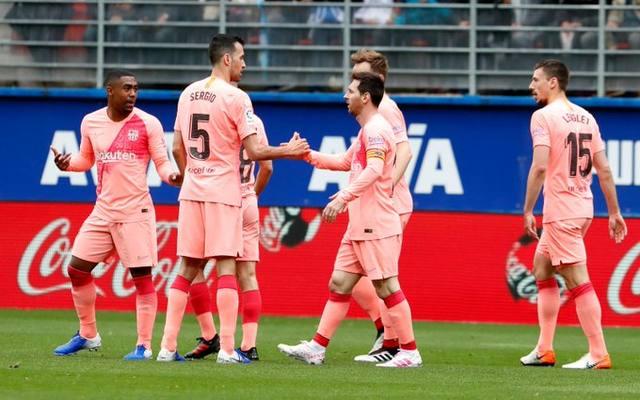 FOTO: Con dos joyas de Messi, Barcelona empató ante Eibar