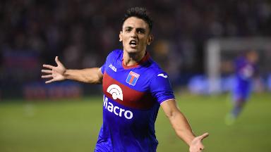 AUDIO: 5º gol de Tigre (Juan Ignacio Cavallaro)