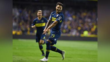 AUDIO: 1º Gol de Boca (Mauro Zárate)
